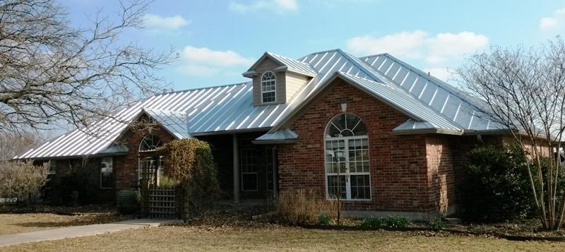 Arlington Texas Metal Roofs